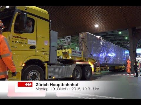 Neuer Generalanzeiger im Hauptbahnhof Zürich.