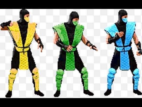 Mortal Kombat 2 Sub Zero Reptile And Scorpion Highlights Youtube