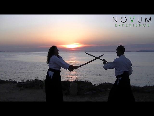 05 Ken tai jo go - Aikido Novum Experience -合氣道 -武器技-剣体杖五