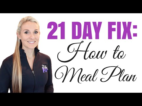 How to Meal Plan and Prep for the 21 Day Fix