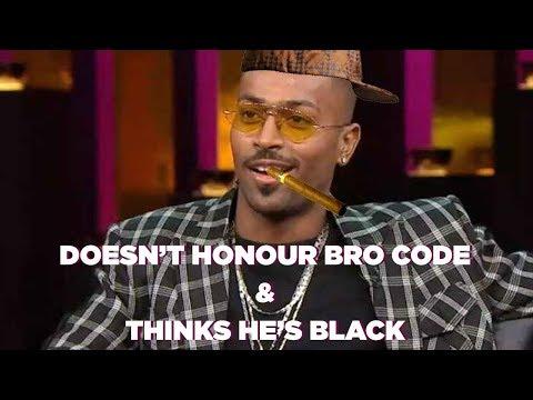 Reaction to Hardik Pandya's Controversial Statement on Koffee With Karan