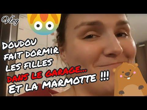 [.-vlog-.]-doudou-fait-dormir-les-filles-dans-le-garage...-😱😱-et-la-marmotte-🐹-!!!