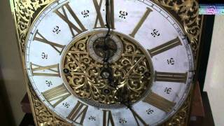 Hardy & Hayes Grandfather Clock Playing The Whittington Chimes