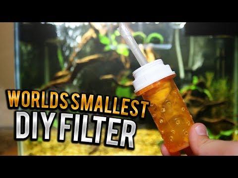 Worlds Smallest DIY Filter!!!!
