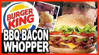 Burger King ★ Bbq Bacon Whopper ★ Review Shout Out To Daym Drops