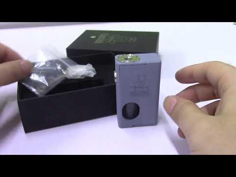 Unboxing FrankenSkull V3 Style Squonk Mechanical Mod With Bottom Feeder RDA Kit