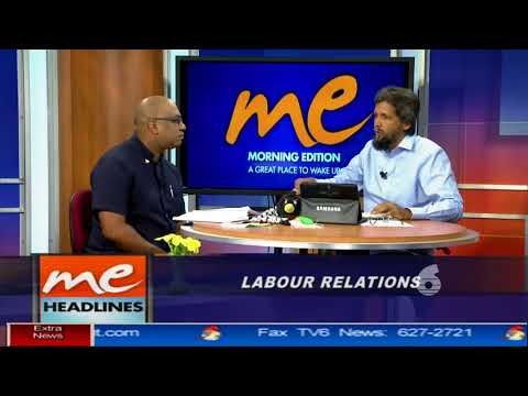 Morning Edition interview with Ozzi Warwick on Labour Relations in T&T