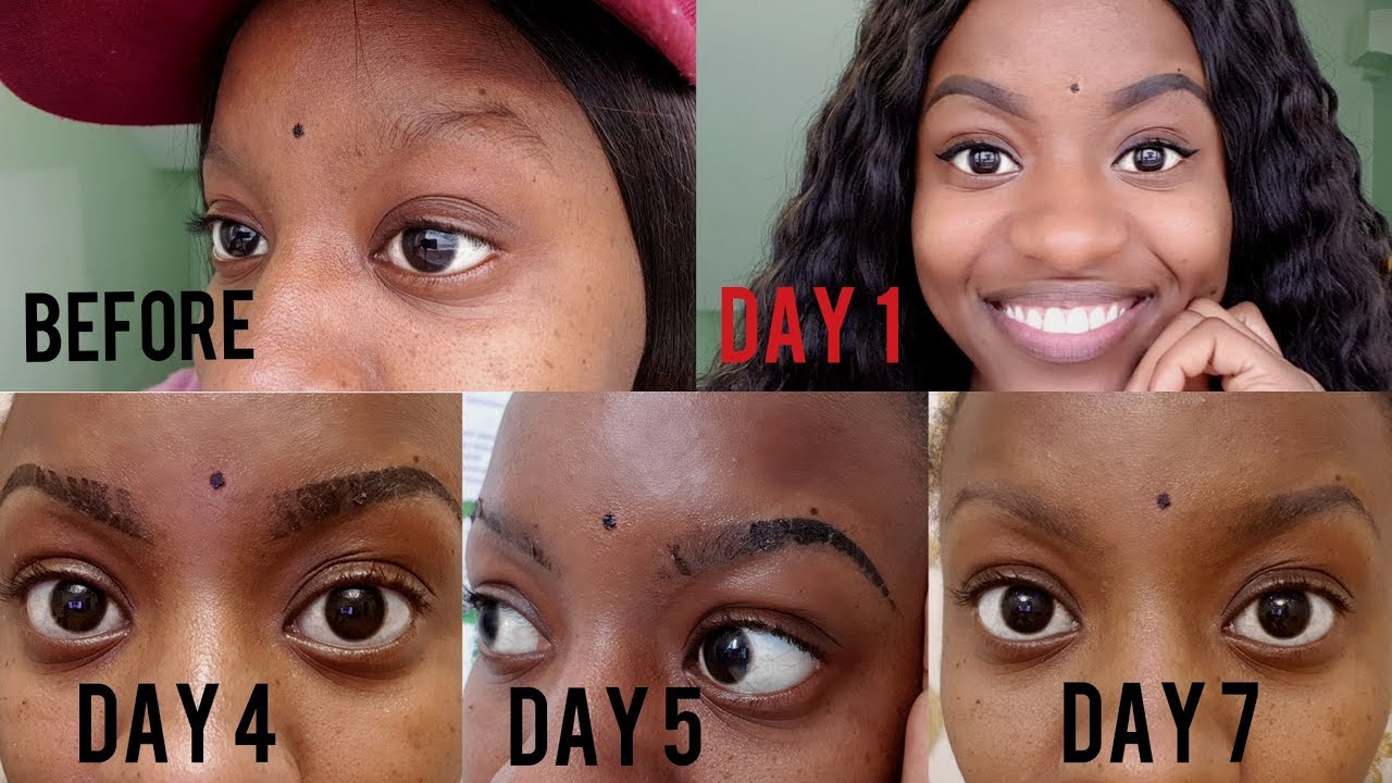 MICROSHADING HEALING PROCESS & EXPERIENCE DAY BY DAY |TATTOO EYEBROWS  |PERMANENT MAKEUP|