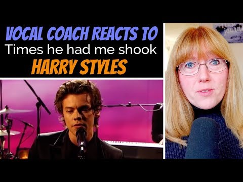 Vocal Coach Reacts To Times Harry Styles Had Me Shook