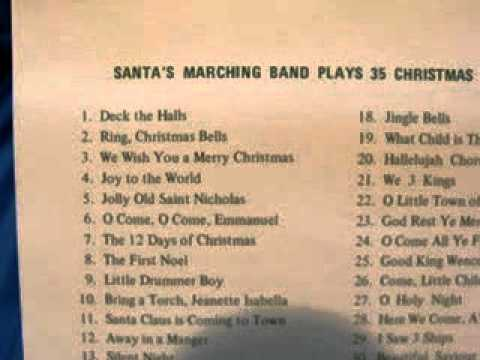 mr christmas santas marching band youtube