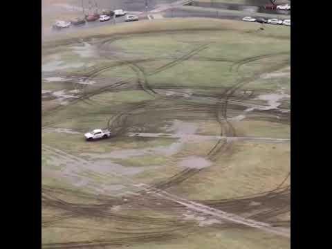 Buscan al conductor de la 4X4 que causó estragos en Puerto Norte