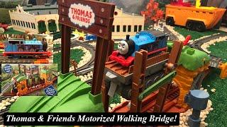 Thomas and Friends Toy Train Set-Motorized Trackmaster Walking Bridge!