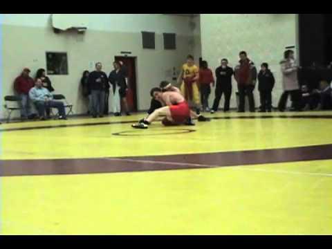 2010 Ontario Junior Championships: 66 kg Kyle Bertrand vs. Adam Argue