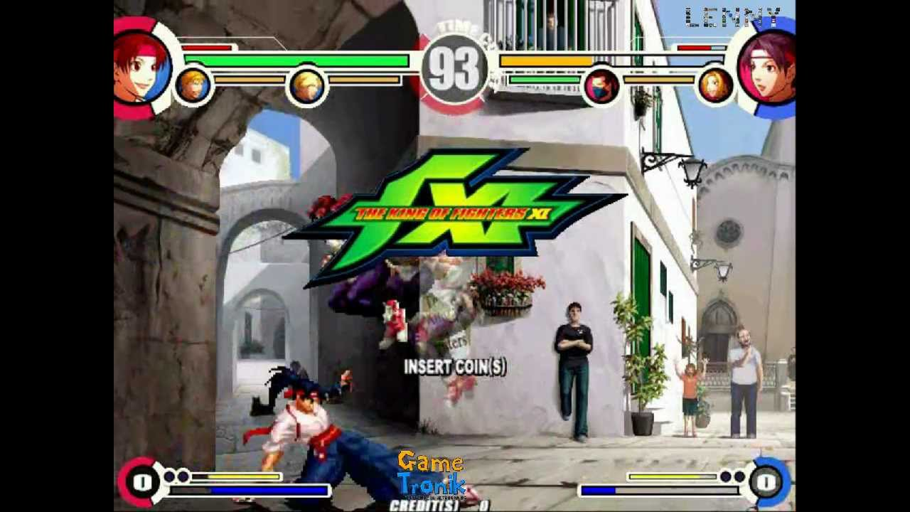 King of fighters xi atomiswave games