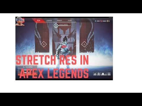 How to Get Stretch Res In Apex Legends Pc