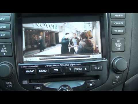 Honda Accord Multimedia Ga Net Asus Eee701 Youtube