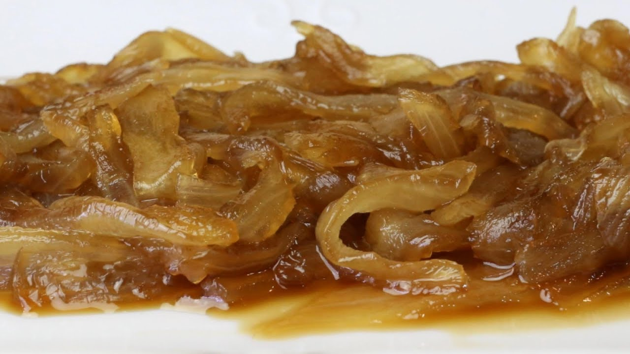 Cebolla Caramelizada Como Hacer Cebolla Caramelizada Fácil Y Rápido Youtube