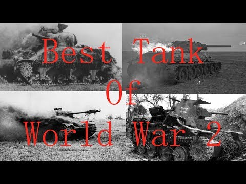 The Best Tank of World War 2