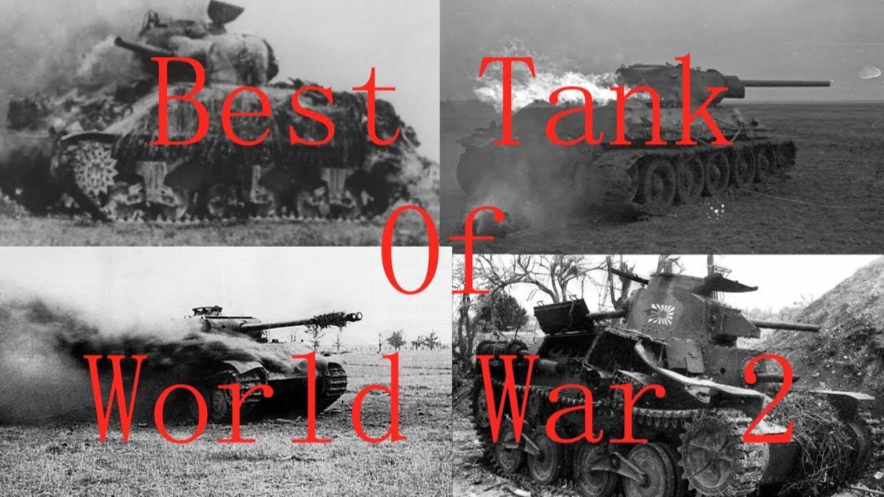 The Best Tank of World War 2