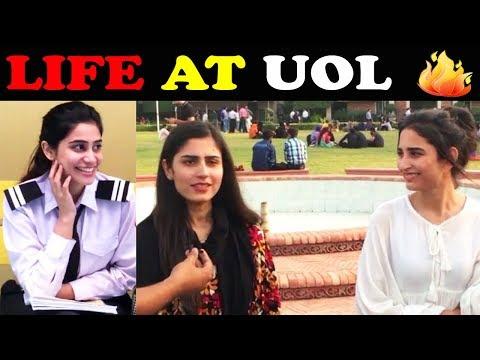 Life at Uol  Life at University of Lahore  University of Lahore  Girls on Boys - Boys on Girls
