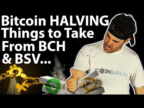 Bitcoin Halving: Clues From BCH & BSV ❓