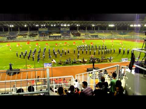 KLWMBC 2010 Grand Final- Marching Band Bontang Pupuk Kaltim, Indonesia