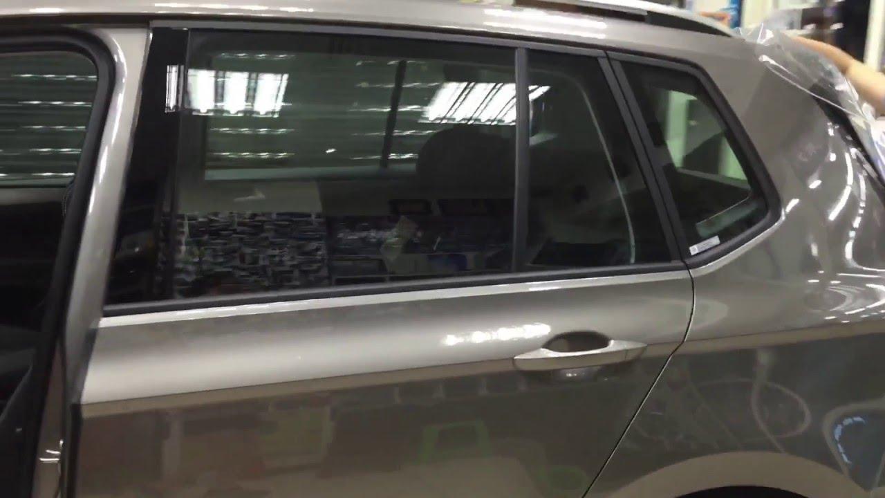 福斯 SPORTSVAN 宜展隔熱紙新莊創始店1991 全車FSK冰鑽系列 專業無縫施工 - YouTube