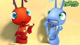 Oddbods Present: Antiks | Hot Shots | Funny Cartoons For Kids YouTube Videos