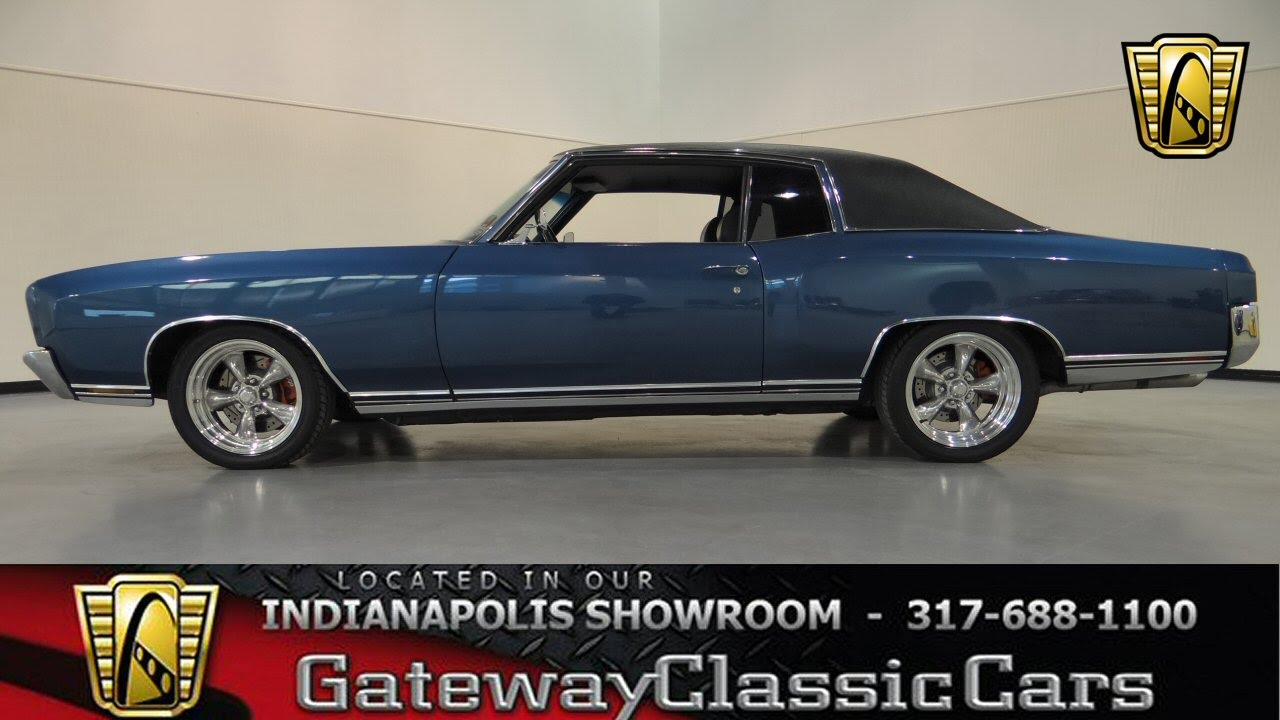 1972 Chevrolet Monte Carlo Gateway Classic Cars Indianapolis