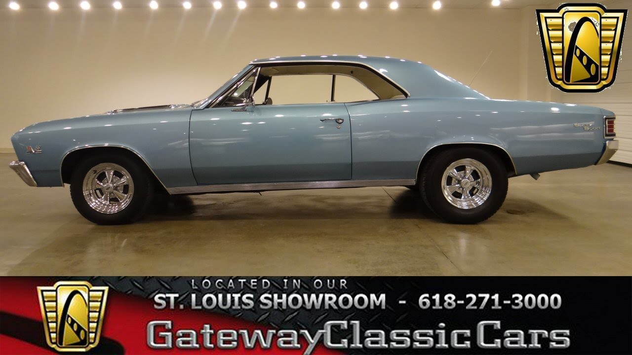 1967 Chevrolet Chevelle - Gateway Classic Cars St. Louis ...