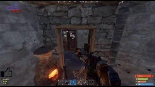 Komşu Online Raid ( Konserveleri Attı :D ) / Rust Survival Türkçe Raid