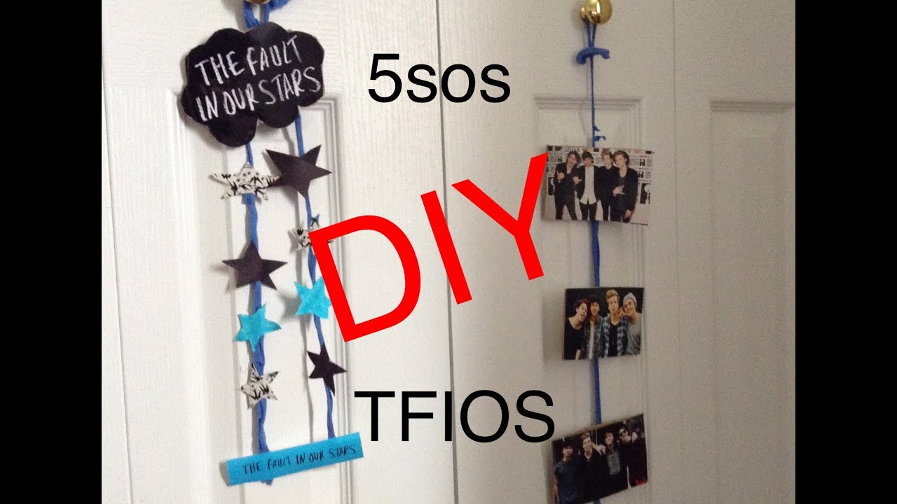 Room decor diy 5sos tfios sophie youtube for 5sos room decor ideas