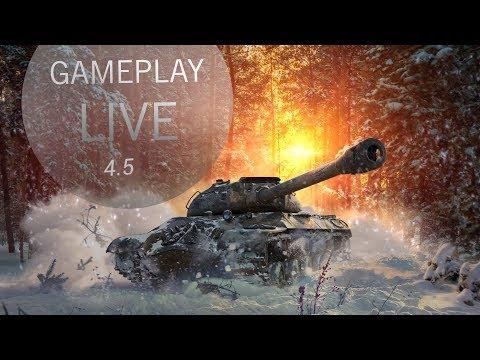 월드오브탱크 블리츠 (4.5) 게임플레이 Live
