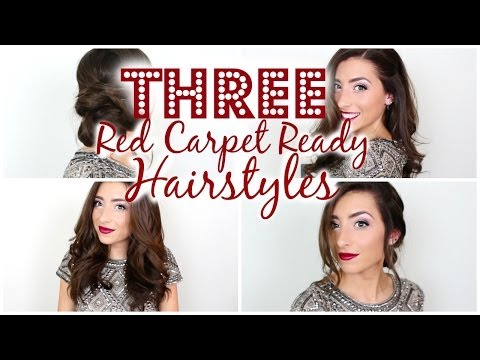 Easy Red Carpet Inspired Hairstyles!