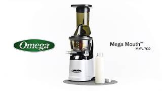 Almond milk with Omega Mega Mouth MMV-702S