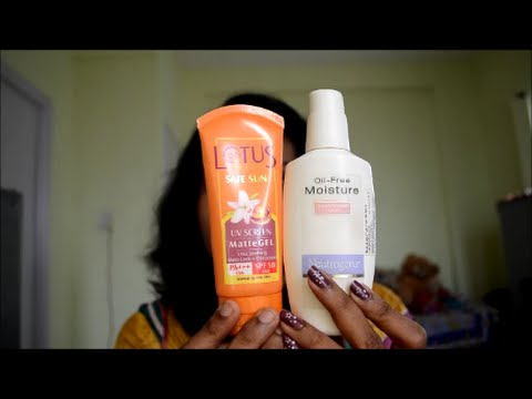 Best Moisurizer and Sunscreen for oily skin in Indian ...