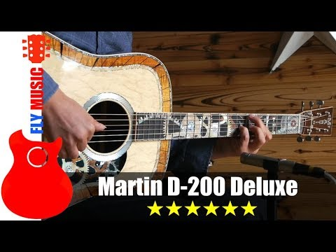 Martin D200 deluxe guitars review吉他评测