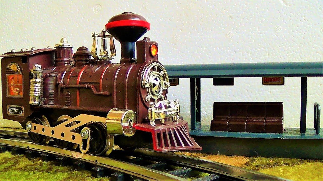 поезд и железная дорога игрушки для мальчиков видео про поезда для детей