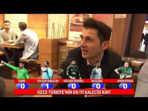 Türkiye'ye Göre Türkiye'nin En iyi kalecisi Kim (Fabri,Volkan Babacan,Volkan Demirel, Muslera,Onur)