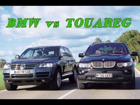 Touareg vs BMW X5 Сравниваем туарег и бмв х5 е53 на OFF Road