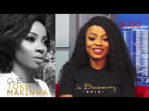 "Toke Makinwa Talks About Her New Book ""On Becoming..."" 