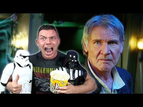 STAR WARS THE FORCE AWAKENS - Final Trailer Reaction Review