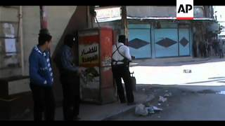 Footage shows previous clashes in Damascus suburb