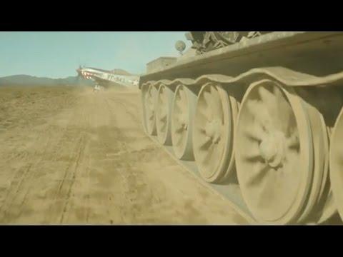 Танк Vs Самолет - батл в духе индийского кино