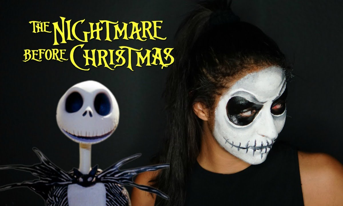 Jack Skellington The Nightmare Before Christmas Makeup ...
