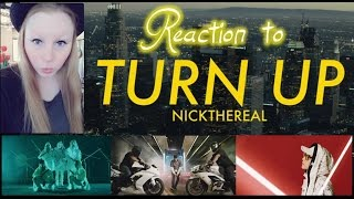 "REACTION TO 周湯豪 NICKTHEREAL ""TURN UP"" MUSIC VIDEO/TAIWAN"