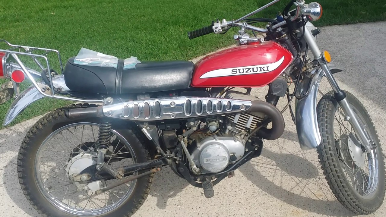 1973 Suzuki TC185