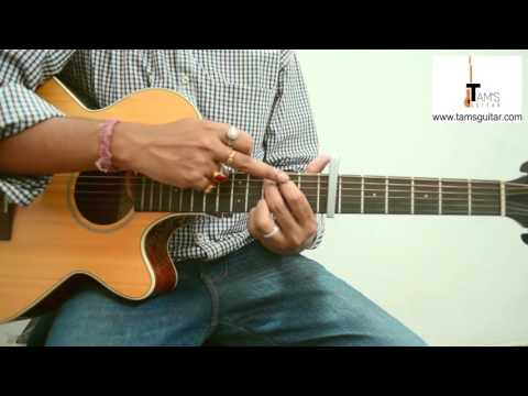 4 easy bengali songs guitar lesson in Bengali (www.tamsguitar.com)