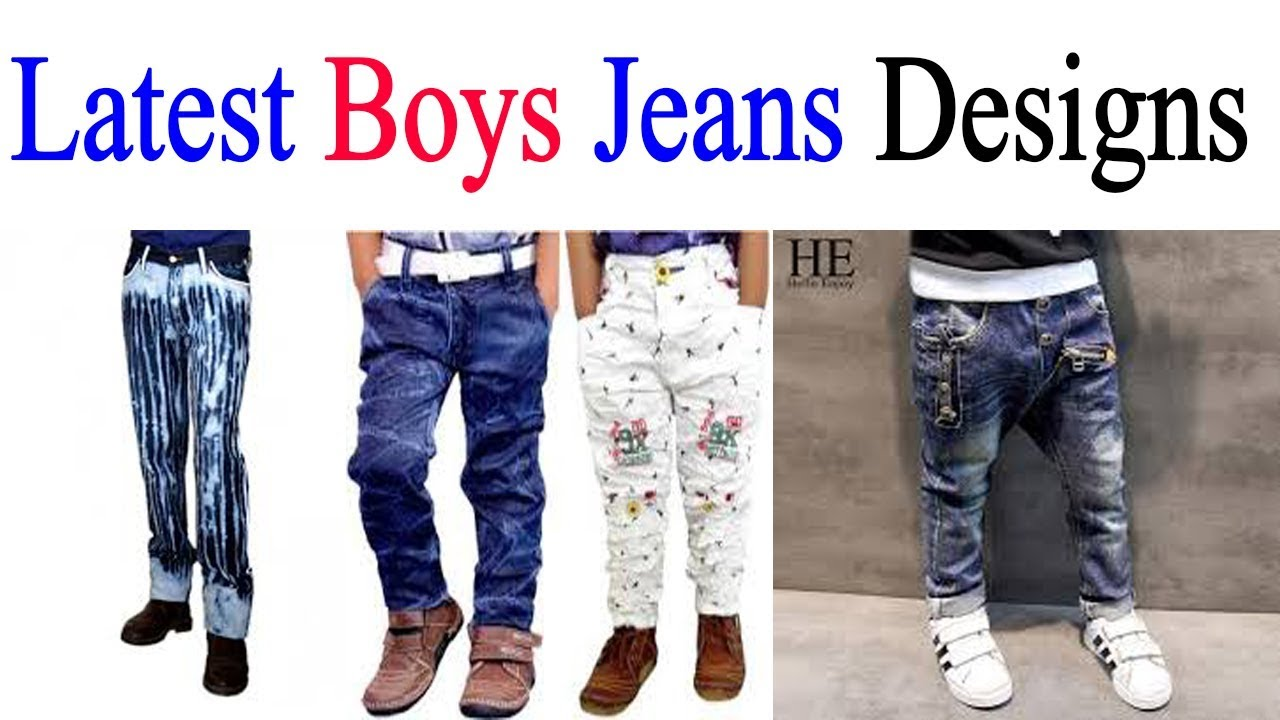 New Fashion Design Latest Boy Jeans Designs Collection Jeans