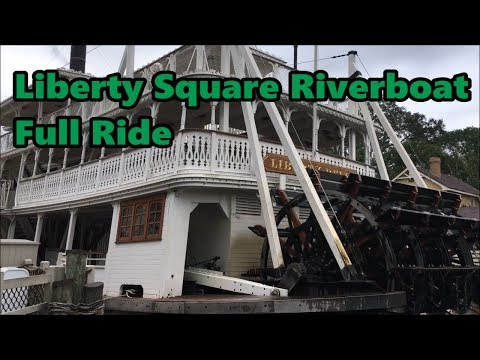 Liberty Square Riverboat | Full Ride | Magic Kingdom | Walt Disney World